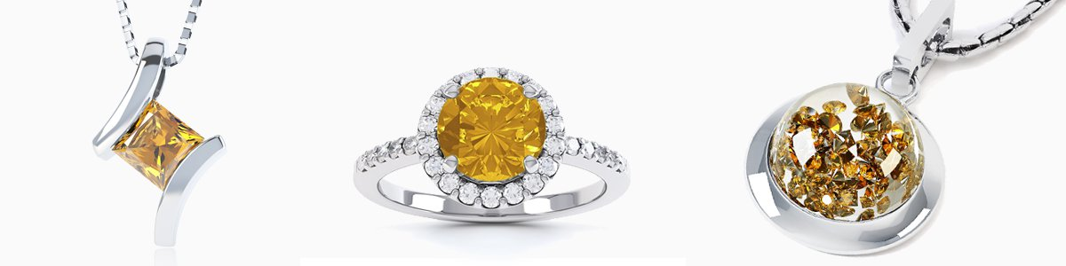 Citrine Jewellery - from Earrings Studs and Drops to Pendants to Rings