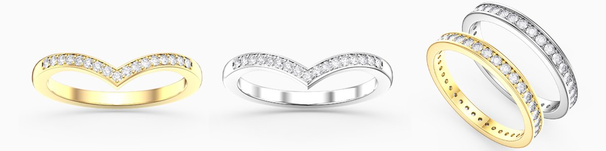 Jian London Diamond Wedding Rings Jewellery