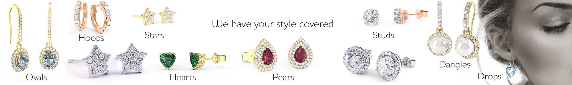 Shop Earrings by Jian London. Stunning gifts for your Bridesmaids. Free UK Delivery