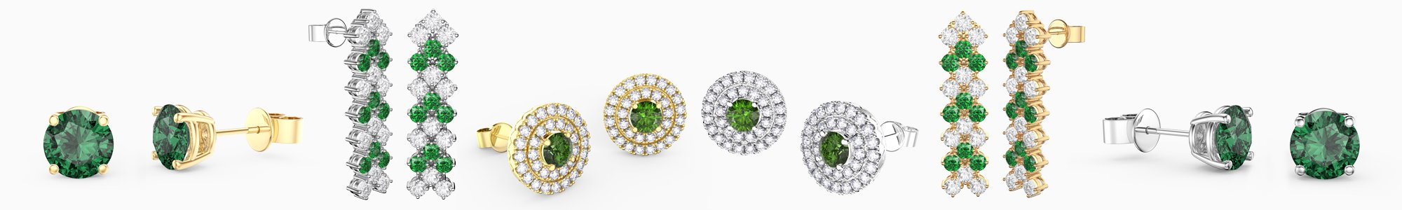 Shop Emerald Earrings by Jian London. Buy direct and save from our wide selection of Emerald Earrings at the Jian London jewellery Store. Free UK Delivery