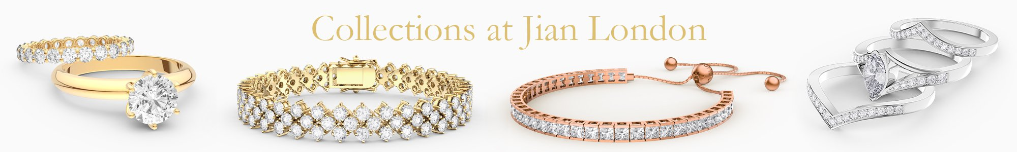Jewellery Collections for everyone - from precious gemstones to Diamonds. From Silver to 18ct Gold.