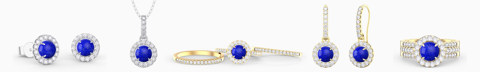 Lapis Lazuli Jewellery - from Earrings studs and drops to Pendants to Engagement Rings