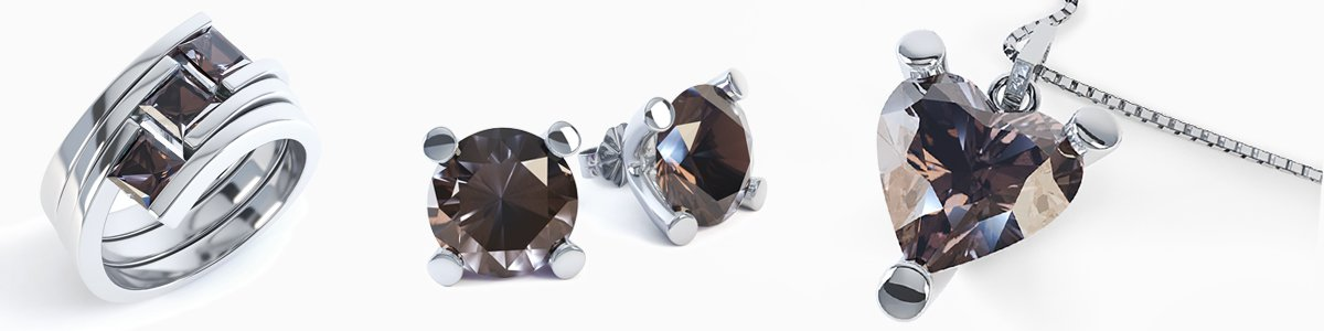 Shop Smoky Quartz Jewellery by Jian London. Choose from a great selection of Rings, Earrings, Necklaces, Bracelets, Pendants, Lockets and more at everyday low prices from Jian London. Free UK Delivery.