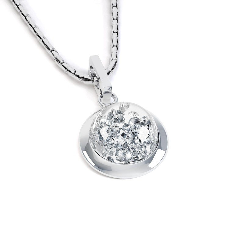 cz silver necklace jewelry missty necklaces genuine with flower pendant diamond sterling for ct women product