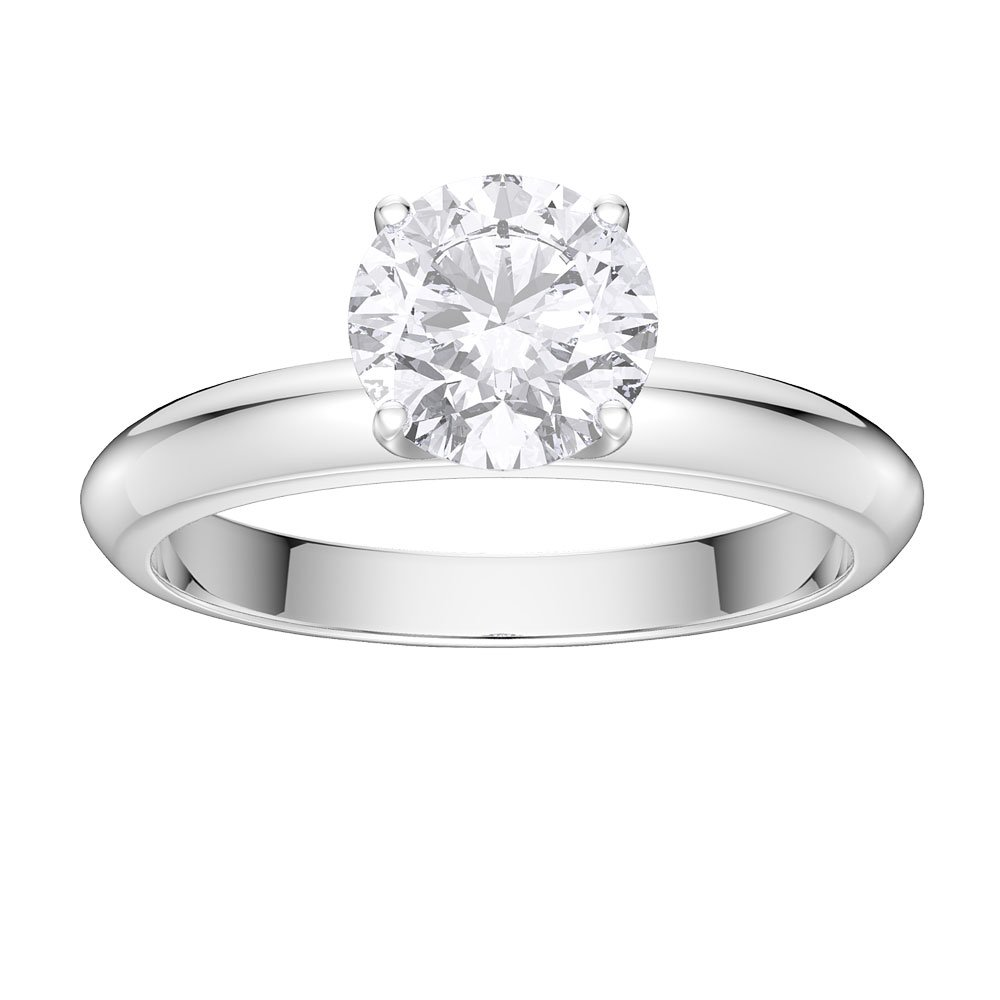 Unity 1ct Diamond 18ct White Gold Engagement Ring